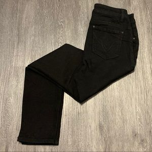D.Jeans Skinny High Rise Jeans Black Size 8
